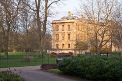 The college grounds, Oxford Royalty Free Stock Image