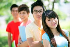 College group Royalty Free Stock Photo