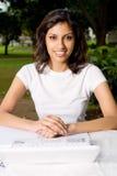 college indian student Στοκ φωτογραφίες με δικαίωμα ελεύθερης χρήσης