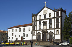 College of Jesus Church in Funchal, Madeira, Portugal Stock Images