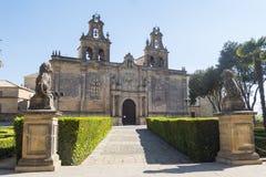 College- kyrka av Santa Maria de los Reales Alcazares, Ubeda, royaltyfri fotografi