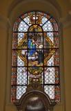 College- kyrka av St Denis av Liege Royaltyfri Bild