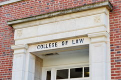 College of Law Royalty Free Stock Photo