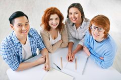College learners Royalty Free Stock Images