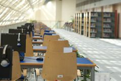 College library Royalty Free Stock Photography