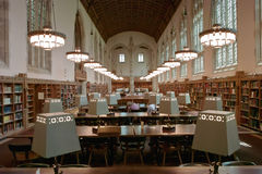 College Library Reading Room Royalty Free Stock Photography
