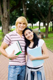 College lovers Stock Photography