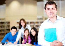 College male student Royalty Free Stock Image