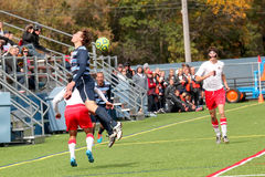 College NCAA DIV III Men's Soccer Stock Photography