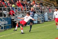 College NCAA DIV III Men's Soccer Stock Images