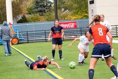 College NCAA DIV III Women's Soccer. Waukesha, WI, USA, 10/05/2014, Schneider Field, Carroll University Pioneers, NCAA Women's Soccer DIV III, Midwest Stock Image