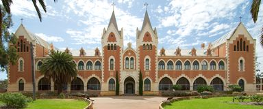 College at New Norcia. One of the many heritage buildings at New Norcia in Western Australia. New Norcia is a town in Western Australia, 132 km north of Perth Stock Image