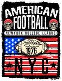 College New York typography, t-shirt graphics. Stock Photo