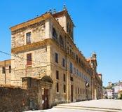 College of Nosa Senora da Antiga  is located in Monforte de Lemo Stock Photography