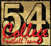 College number Old paper texture graphic vector Stock Images