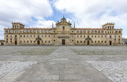 College of Our Lady of the Old,Monforte of Lemos Royalty Free Stock Images