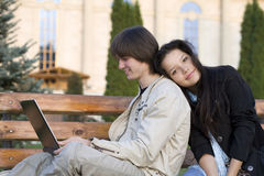 College people Stock Image