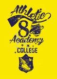 college printing  art Royalty Free Stock Photos