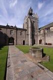 College Quadrangle de la universidad de Aberdeen de rey Fotografía de archivo