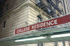 College Residence Royalty Free Stock Images