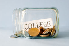 College Savings Stock Image