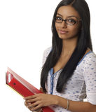 College school student smiling happily Stock Photos