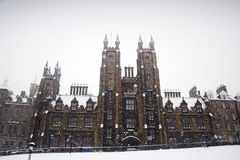 College snow Stock Images