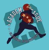 College sports  art Stock Image