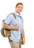 College student back to school happy Stock Images