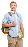 College student back to school happy Stock Photos