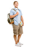 College student back to school happy Stock Photography