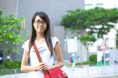 College student at campus Royalty Free Stock Images