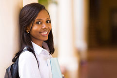 College student close up royalty free stock photography