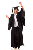 College student dancing Royalty Free Stock Image
