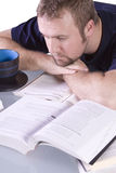 College Student Daydreaming Stock Images
