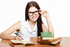 College student Royalty Free Stock Photo