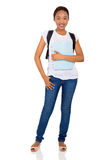 College student full length Stock Images