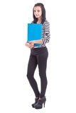 College Student girl Royalty Free Stock Photo