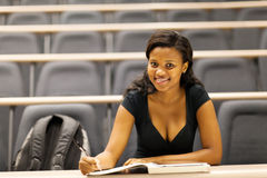 College student lecture hall Stock Photos