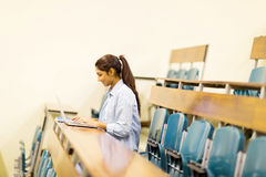 College student lecture hall Royalty Free Stock Photos