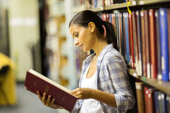 College student library Stock Images