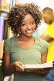 College student library Royalty Free Stock Photo