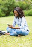 College student mobile phone Stock Photo
