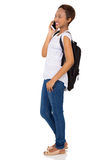 college student phone call Royalty Free Stock Photo