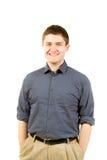 College Student Portrait Stock Photo