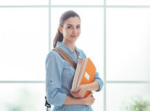 College student portrait Royalty Free Stock Images