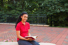 A college student Royalty Free Stock Photos