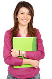 College student smiling Royalty Free Stock Image