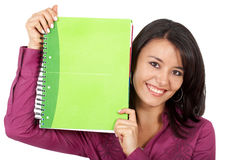 College student smiling Stock Photography