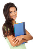 College student smiling Stock Photo